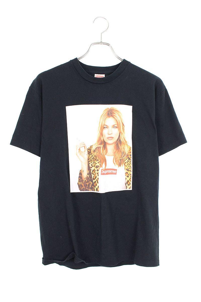 シュプリーム/SUPREME 【12SS】【Kate Moss Tee】ケイトモスプリントTシャツ(M/ブラック)【HJ12】【メンズ】【415091】【中古】bb205#rinkan*A