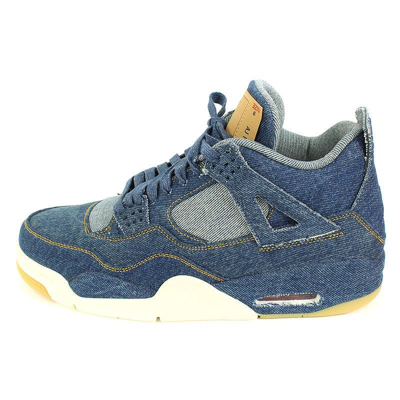 4827e479aa2 X Levis /LEVI'S [AIR JORDAN 4 RETRO LEVIS NRG AO2571-401] Air Jordan 4  nostalgic sneakers