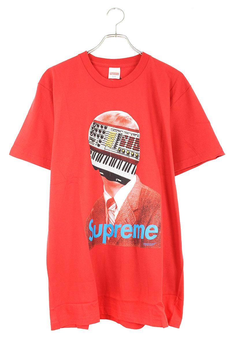 シュプリーム/SUPREME ×アンダーカバー/UNDERCOVER 【15SS】【Synhead Tee】フェイスプリントTシャツ(L/レッド)【HJ12】【メンズ】【025091】【中古】bb14#rinkan*S