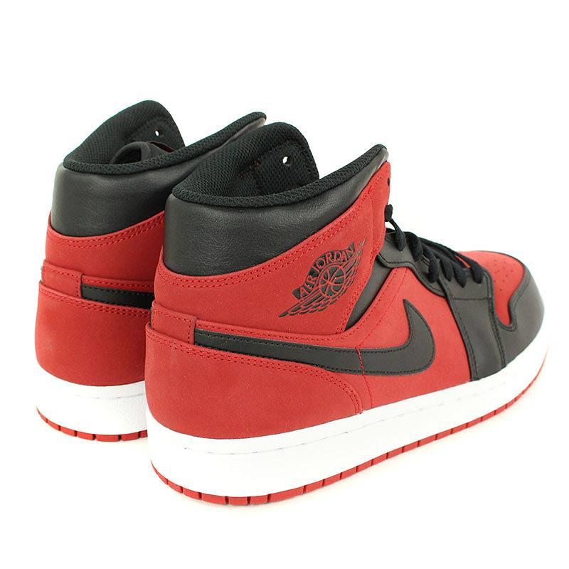 pretty nice c9a7b fb2eb Nike /NIKE Air Jordan 1 midband sneakers (27.5cm/ red X black)  bb229#rinkan*A