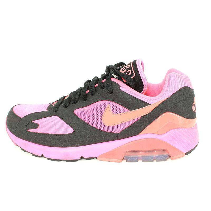 meilleur site web 53bb1 cba39 Nike /NIKE X コムデギャルソンオムプリュス /COMME des GARCONS HOMME PLUS Air Max 180  sneakers (25.5cm/ pink X black) bb78#rinkan*B