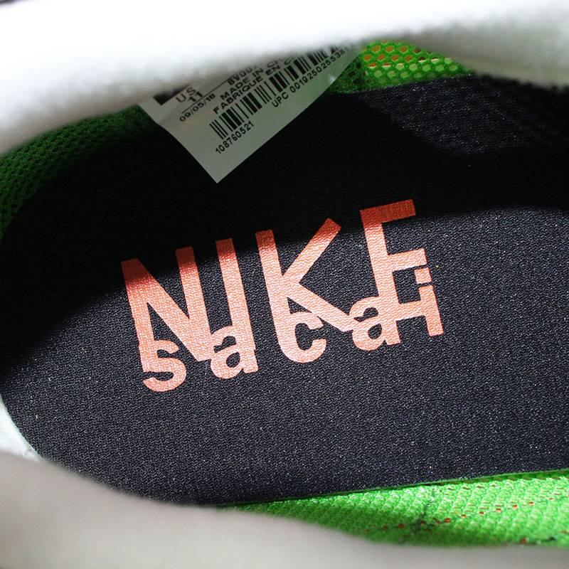 Nike /NIKE X Sakai /Sacai waffle sneakers (29cm/ green X yellow)  bb307#rinkan*S