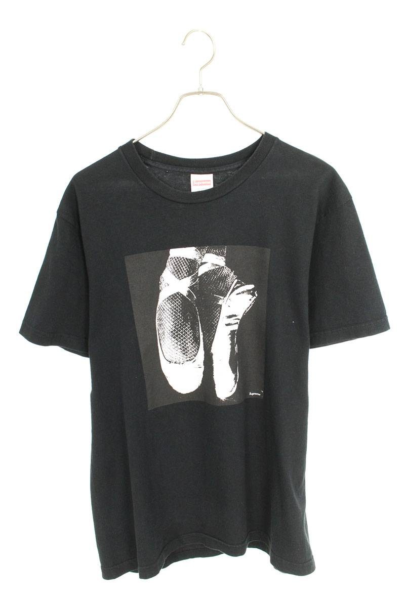 シュプリーム/SUPREME 【14AW】【Ballerana Top Tee】バレリーナプリントTシャツ(M/ブラック)【OM10】【メンズ】【018091】【中古】bb76#rinkan*B