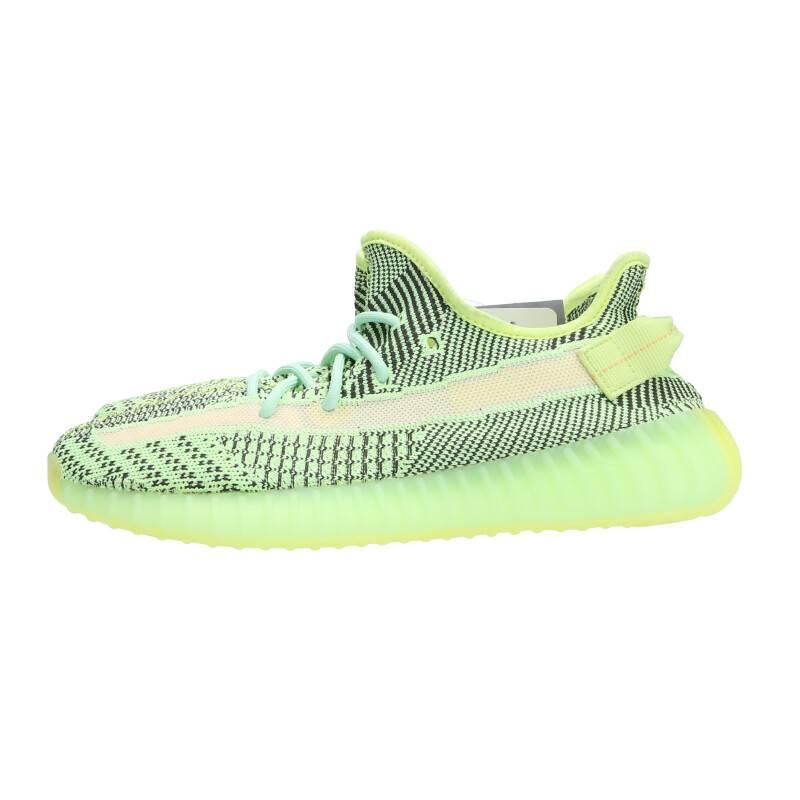 アディダス カニエウエスト/adidas Kanye West 【YEEZY BOOST 350 V2 YEEZREEL】【FW5191】ローカットスニーカー(26.5cm/イエロー×ブラック)【SB01】【メンズ】【小物】【422002】【中古】bb30#rinkan*A