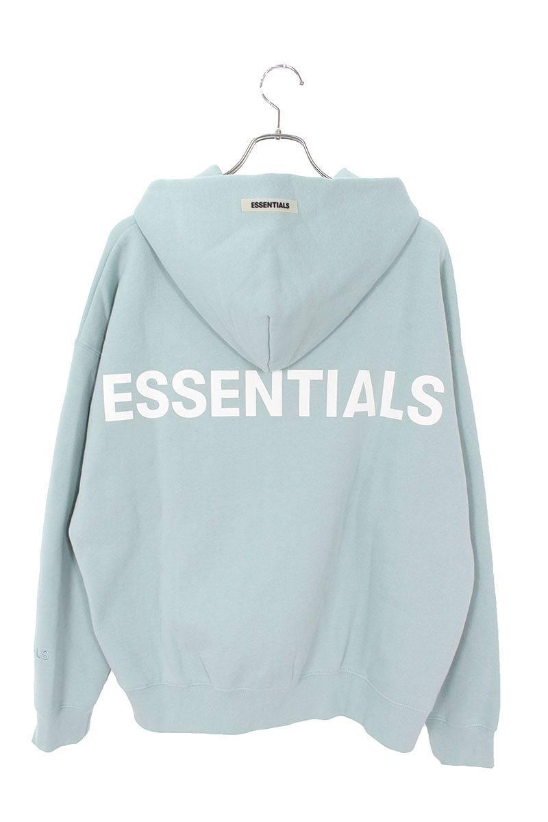 フォグ/FOG 【19AW】【Essentials Pullover Hoodie】バックロゴプルオーバーパーカー(M/ブルー)【SB01】【メンズ】【522002】【中古】bb131#rinkan*S