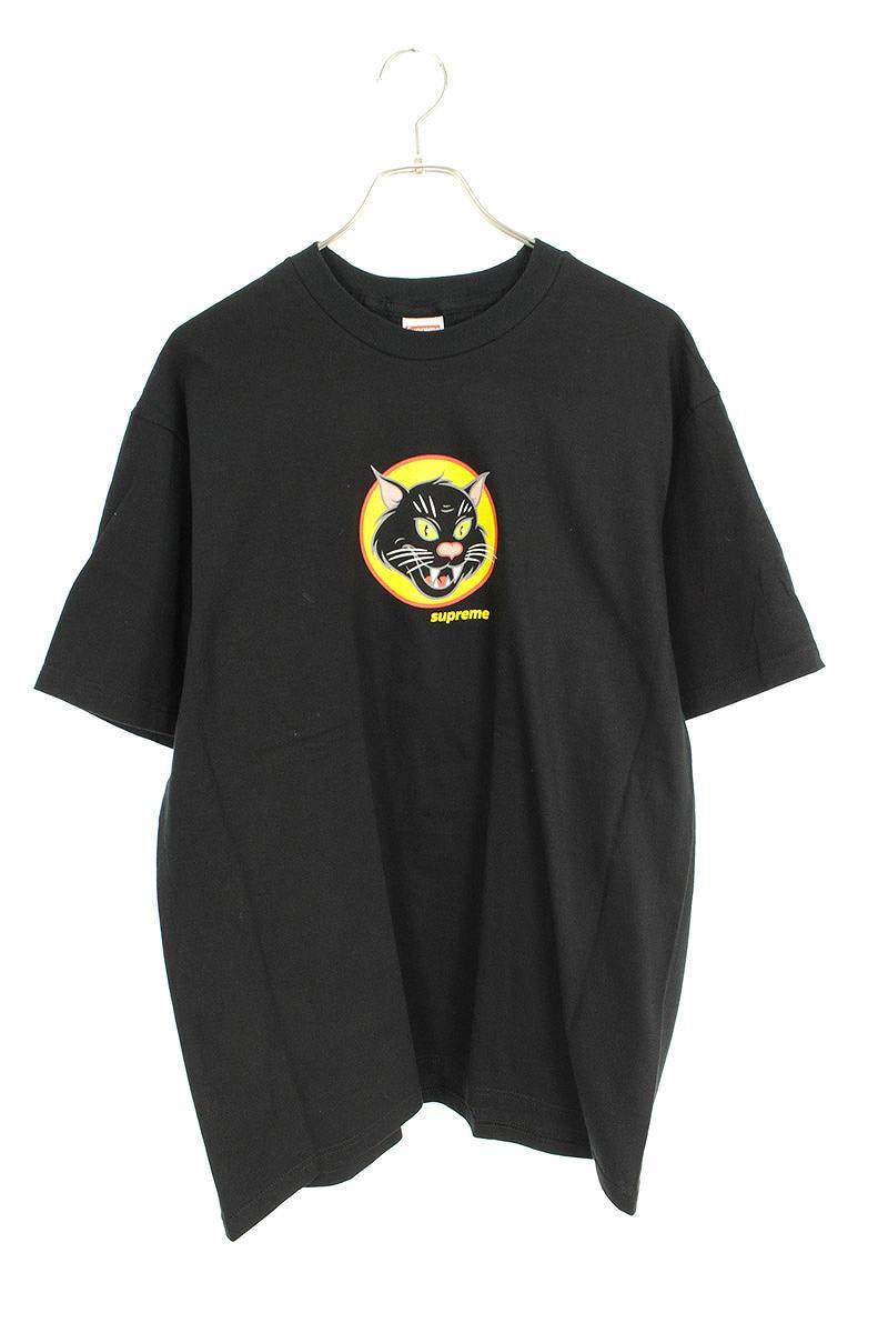 シュプリーム/SUPREME 【20SS】【Black Cat Tee】ブラックキャットTシャツ(L/ブラック)【SB01】【メンズ】【713002】【中古】bb131#rinkan*S