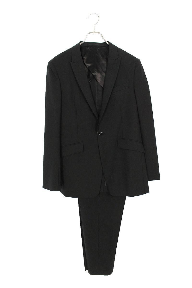ノット/KNOTT ピークドラペル 1B セットアップスーツ(1/ブラック)【BS99】【メンズ】【104002】【中古】bb15#rinkan*A