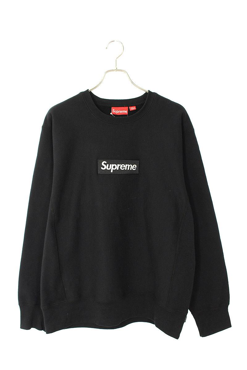 シュプリーム/SUPREME 【18AW】【Box Logo Crewneck】ボックスロゴクルーネックスウェット(L/ブラック)【SB01】【メンズ】【604002】【中古】bb154#rinkan*A