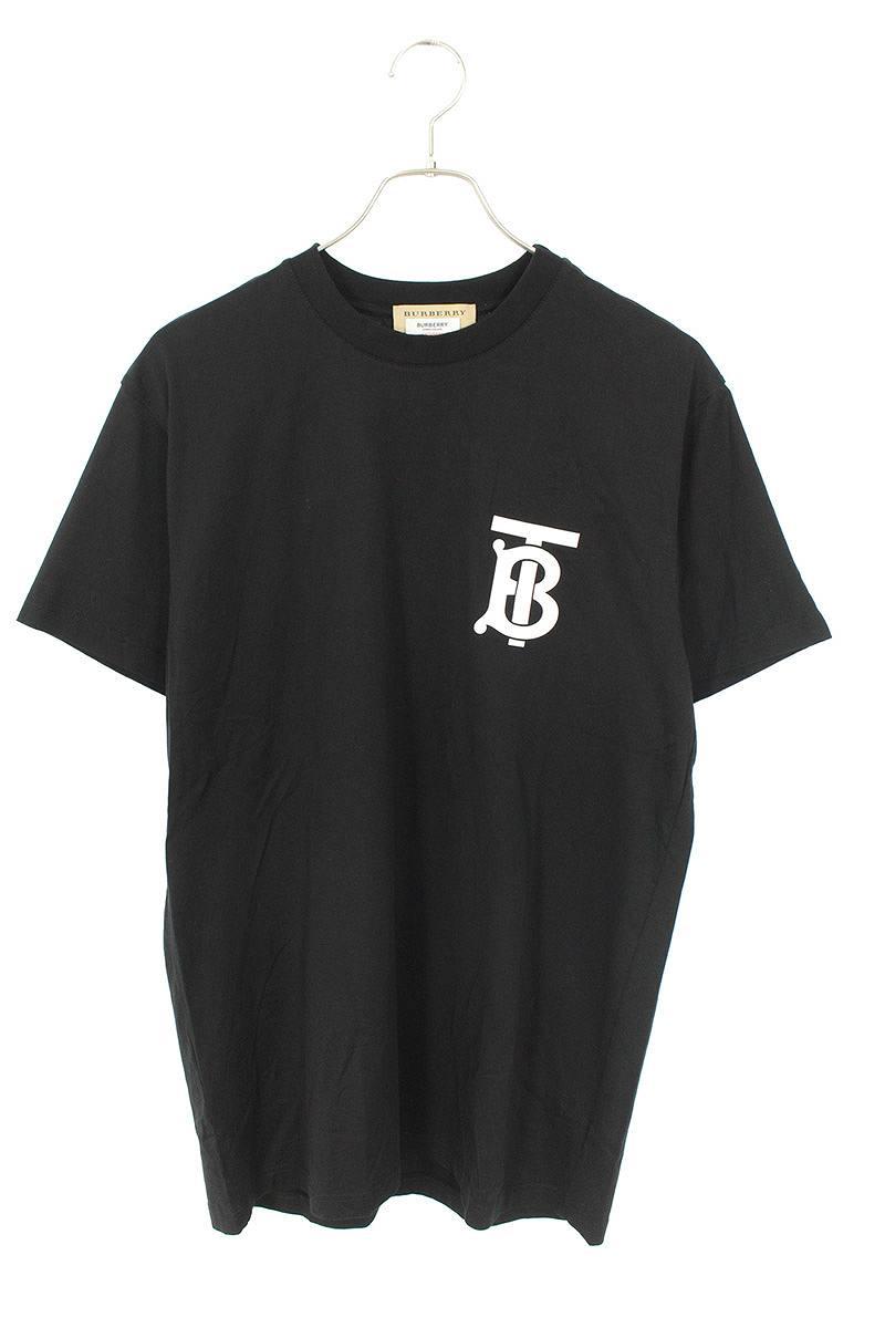 バーバリー/Burberry ロゴプリントTシャツ(XXS/ブラック)【SB01】【メンズ】【224002】【中古】【準新入荷】bb92#rinkan*B