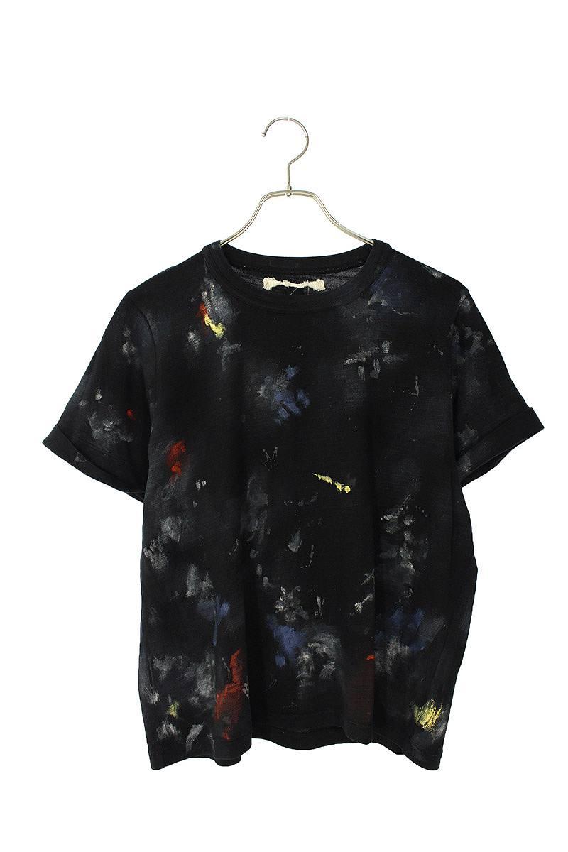 オフホワイト/OFF-WHITE ペイントTシャツ(M/ブラック)【SB01】【レディース】【524002】【中古】bb15#rinkan*B