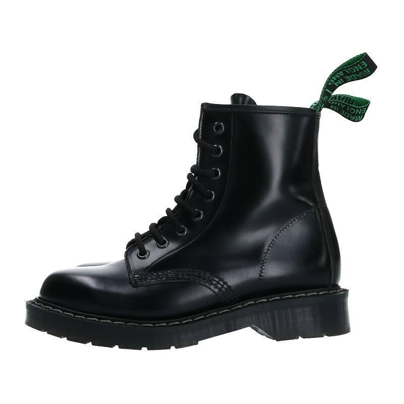 ソロヴェアー/SOLOVAIR 【8 Eye Berby Boots】8ホールダービーブーツ(3/ブラック)【BS99】【レディース】【小物】【017002】【中古】bb51#rinkan*A