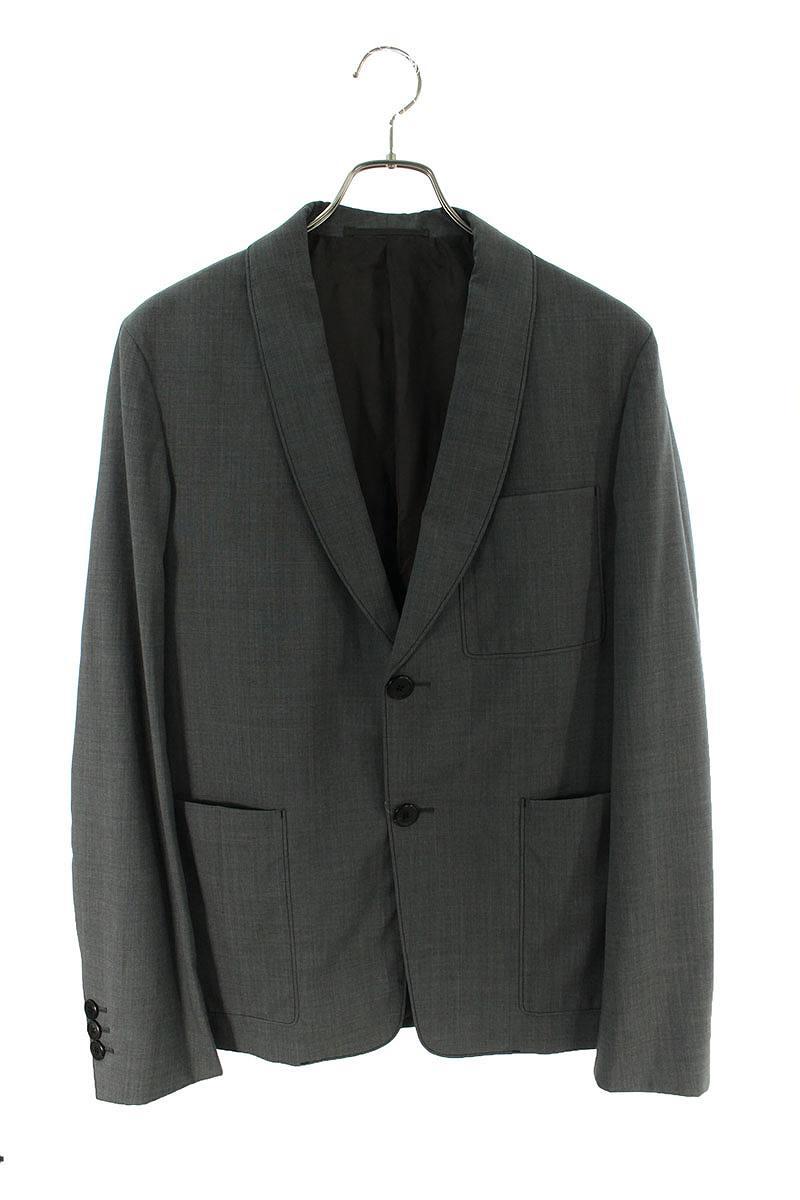 プラダ/PRADA サイズ:48 2Bテーラードジャケット(グレー)【BS99】【メンズ】【108002】【中古】bb132#rinkan*B
