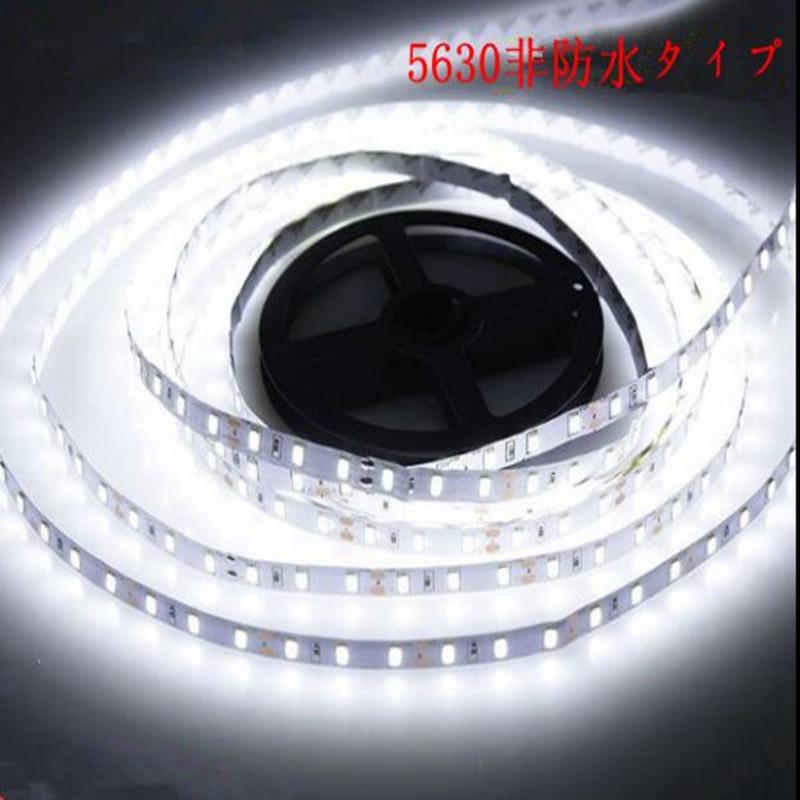 DC12V マーケット LEDテープライト 非防水タイプ 300連 5m 5630SMD ホワイト 『4年保証』 正面発光 カット可 LEDテープ 白 送料無料