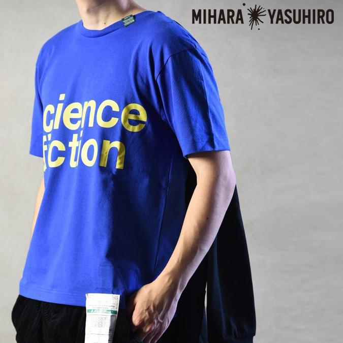 【返品不可】Maison MIHARA YASUHIRO メゾン ミハラヤスヒロ 4 sleeves L/S T-shirt メンズ Tシャツ 半袖 長袖 ドッキング ロゴ