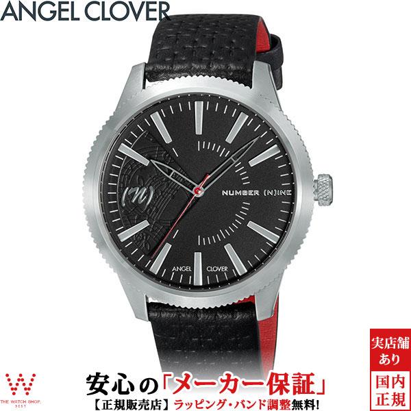 エンジェルクローバー [Angel Clover] ナンバーナイン [NUMBER (N)INE] NN42SBK-BK ファッション レザー ブランド メンズ 腕時計 時計 [ラッピング ギフト プレゼント]