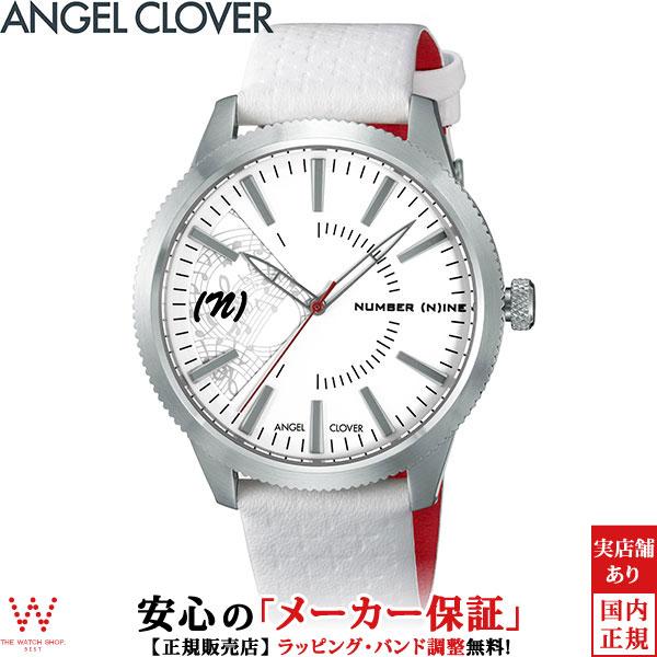 エンジェルクローバー [Angel Clover] ナンバーナイン [NUMBER (N)INE] NN42SWH-WH ファッション レザー ブランド メンズ 腕時計 時計 [誕生日 プレゼント ギフト 贈り物]