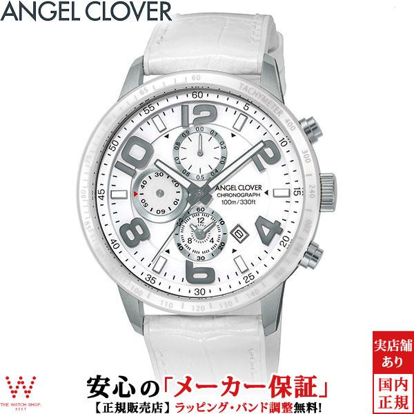 エンジェルクローバー [Angel Clover] ルーチェ [LUCE] LU44SWH-WH セラミックベゼル メンズ 腕時計 時計 [誕生日 プレゼント ギフト 贈り物]