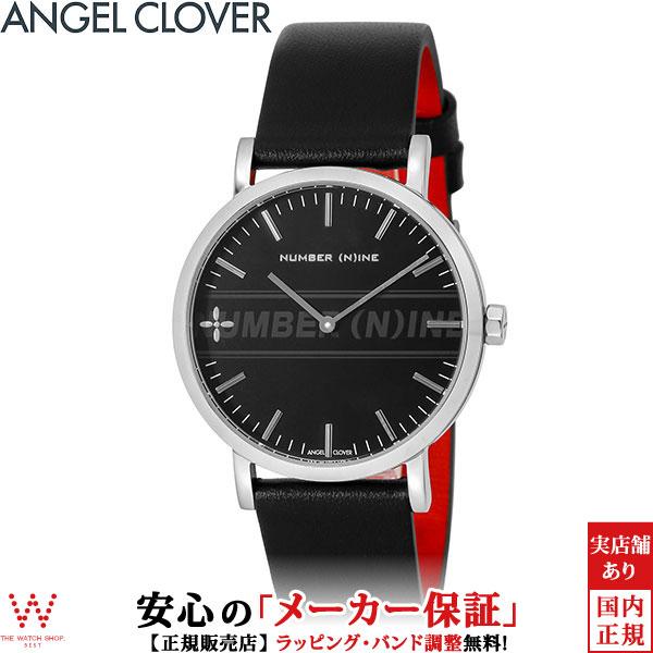 エンジェルクローバー [Angel Clover] ナンバーナイン [NUMBER (N)INE] NNR40SBK-BK コラボ メンズ 腕時計 時計 [誕生日 プレゼント ギフト 贈り物]