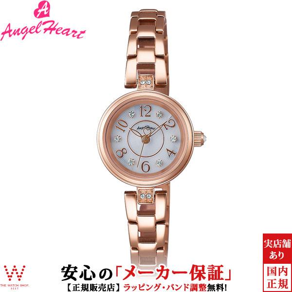 エンジェルハート [Angel Heart] ハッピープリズム [Happy Prism] HP22PG 日本製ソーラー スワロフスキーエレメンツ レディース 腕時計 時計 [誕生日 プレゼント ギフト 贈り物]