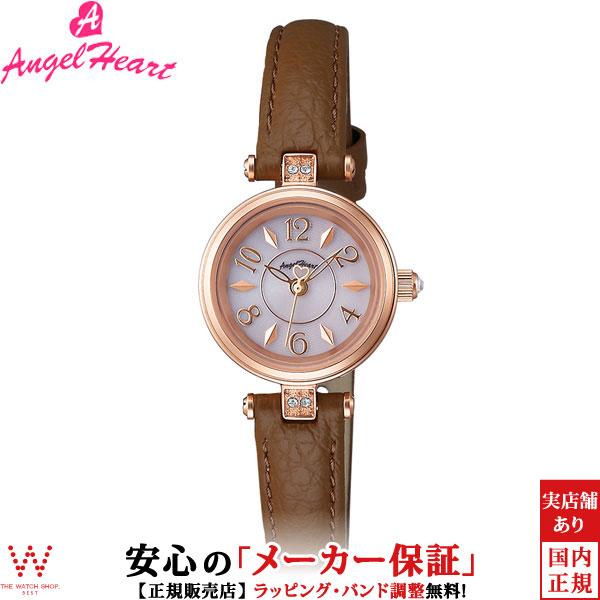エンジェルハート [Angel Heart] ハッピープリズム [Happy Prism] HP22P-BW 日本製ソーラー スワロフスキーエレメンツ レディース 腕時計 時計 [誕生日 プレゼント ギフト 贈り物]