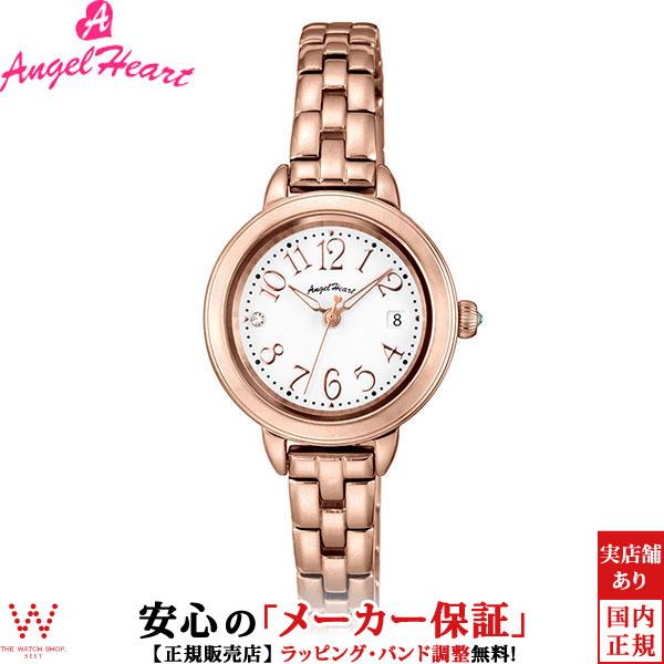 エンジェルハート [Angel Heart] トゥインクルタイム [Twinkle Time] TT26PG 日本製ソーラー スワロフスキーエレメンツ レディース 腕時計 時計 [誕生日 プレゼント ギフト 贈り物]