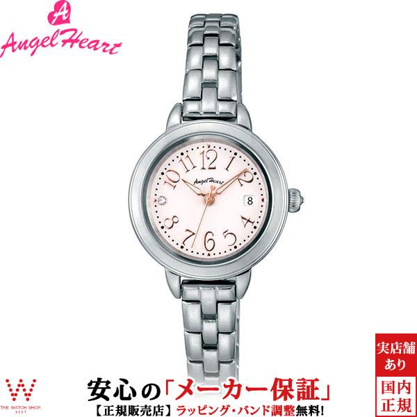 エンジェルハート [Angel Heart] トゥインクルタイム [Twinkle Time] TT26SP 日本製ソーラー スワロフスキーエレメンツ レディース 腕時計 時計 [誕生日 プレゼント ギフト 贈り物]