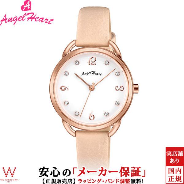 【1,000円クーポン有/3月21日20時~】エンジェルハート [Angel Heart] ヴィーナス [Venus] VI31P-PK 日本製ソーラー スワロフスキーエレメンツ レディース 腕時計 時計 [誕生日 プレゼント お買い物マラソン]