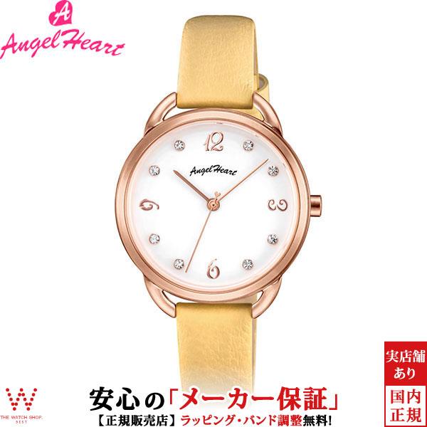 エンジェルハート [Angel Heart] ヴィーナス [Venus] VI31P-YE 日本製ソーラー スワロフスキーエレメンツ レディース 腕時計 時計 [誕生日 プレゼント ギフト 贈り物]