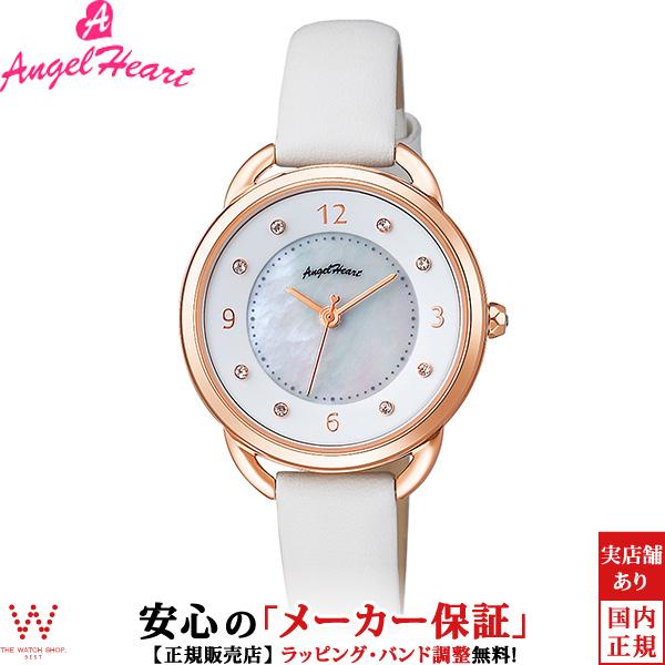 エンジェルハート [Angel Heart] 吉岡里帆コラボモデル [Riho Yoshioka Collaboration] YR31PWH 日本製ソーラー スワロフスキー 天然パール レディース 腕時計 時計 [誕生日 プレゼント ギフト 贈り物]