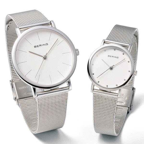 ベーリング [BERING] クラシック シリーズ [CLASSIC SERIES] カービング メッシュ [CURVING MESH] 13426-000 北欧 レディース ペアウオッチ 腕時計 時計 [誕生日 プレゼント ギフト 贈り物]