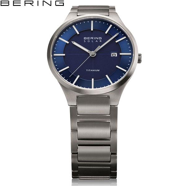 【無金利ローン対象品】 ベーリング [BERING] フルチタニウム Full Titanium] 15239-777 北欧 ソーラー サファイアガラス シンプル メンズ 腕時計 時計 [誕生日 プレゼント ギフト 贈り物]
