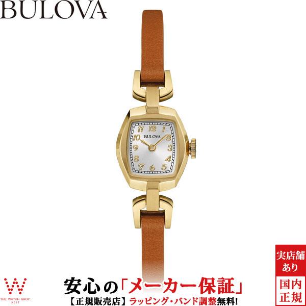 ブローバ [BULOVA] レディースクラシックス [LADIES CLASSICS] ヴィンテージ [Vintage] 97L153 アンティーク風 腕時計 時計 [誕生日 プレゼント ギフト 贈り物]