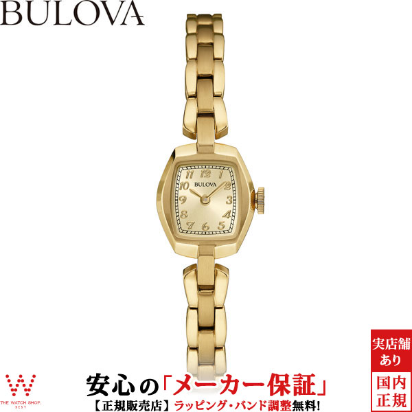 ブローバ [BULOVA] レディースクラシックス [LADIES CLASSICS] ヴィンテージ [Vintage] 97L155 アンティーク風 腕時計 時計 [誕生日 プレゼント ギフト 贈り物]