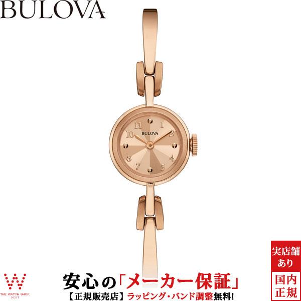ブローバ [BULOVA] レディースクラシックス [LADIES CLASSICS] ヴィンテージ [Vintage] 97L156 アンティーク風 腕時計 時計 [誕生日 プレゼント ギフト 贈り物]