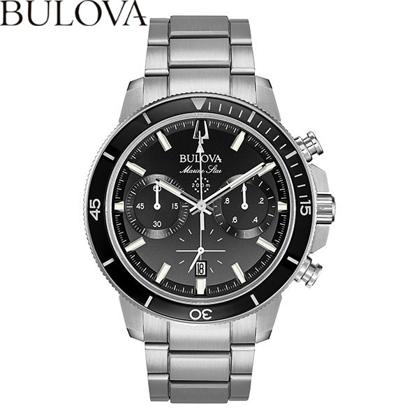 【無金利ローン可】 ブローバ [BULOVA] マリンスター [MARINE STAR] 96B272 メンズ クロノグラフ 腕時計 時計 [誕生日 プレゼント 贈り物 ギフト]