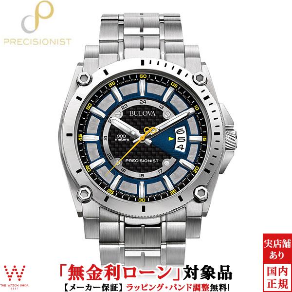 【無金利ローン可】 ブローバ ブローバ プレシジョニスト [BULOVA PRECISIONIST] Champlain 96B131 腕時計 時計 [誕生日 プレゼント ギフト 贈り物]