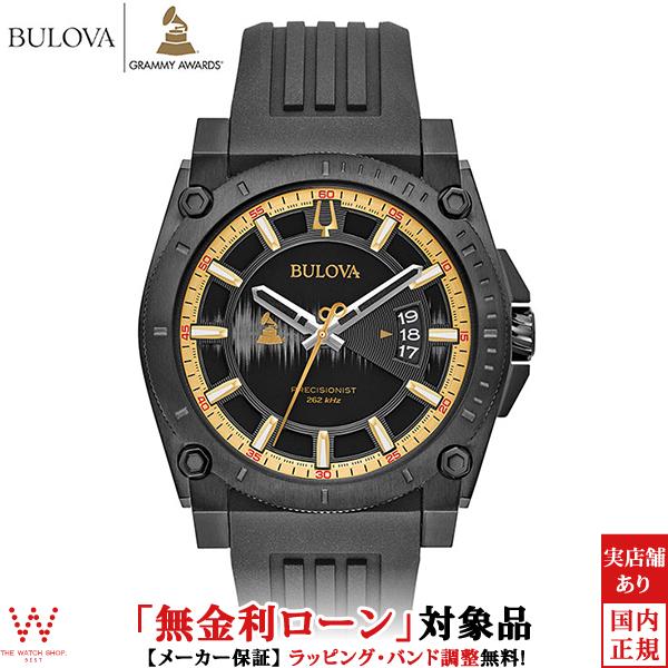 【無金利ローン可】 ブローバ ブローバ プレシジョニスト [BULOVA PRECISIONIST] グラミーエディション [Grammy Edition] グラミー賞 98B294 腕時計 時計 [誕生日 プレゼント ギフト 贈り物]