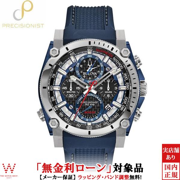 【無金利ローン可】 ブローバ ブローバプレシジョニスト [BULOVA PRECISIONIST] Champlain 98B315 クロノグラフ 腕時計 時計 [誕生日 プレゼント ギフト 贈り物]