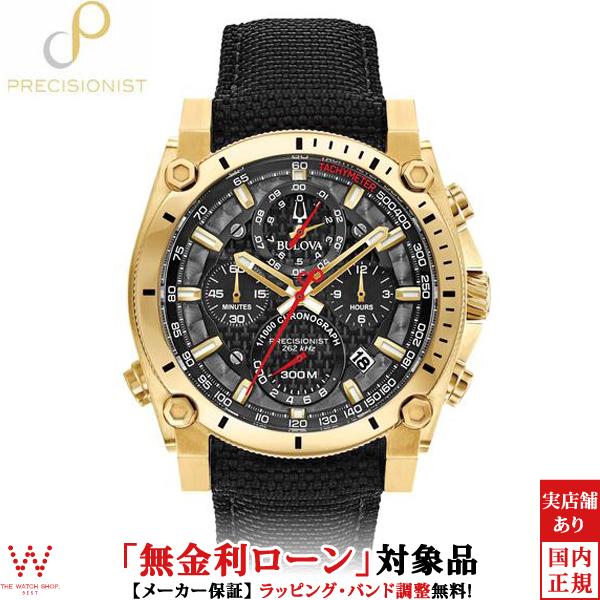 【無金利ローン可】 ブローバ ブローバプレシジョニスト [BULOVA PRECISIONIST] Champlain 97B178 クロノグラフ 腕時計 時計 [誕生日 プレゼント ギフト 贈り物]