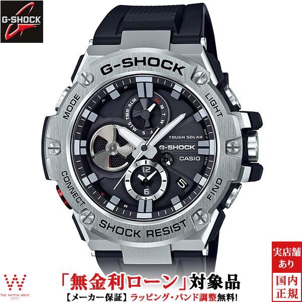 【無金利ローン可】 カシオ カシオ [CASIO] ジーショック [G-SHOCK] GST-B100-1AJF/メンズ/メタルバンド 腕時計 時計 [誕生日 プレゼント ギフト 贈り物]