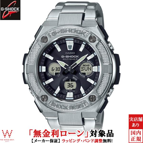 【無金利ローン可】 カシオ カシオ [CASIO] ジーショック [G-SHOCK] G-STEEL GST-W330D-1AJF/メンズ/メタルバンド 腕時計 時計 [誕生日 プレゼント ギフト 贈り物]