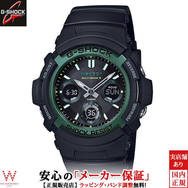 カシオ[CASIO] ジーショック[G-SHOCK] ファイアー・パッケージ-'19[FIRE PACKAGE '19] AWG-M100SF-1A3JR/メンズ/ラバーバンド【腕時計 時計】