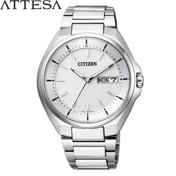 【2,000円OFFクーポン有】シチズン アテッサ [CITIZEN ATTESA] AT6050-54A エコドライブ電波時計 スーパーチタニウム メンズ 腕時計 時計 [誕生日 プレゼント ホワイトデー ギフト]