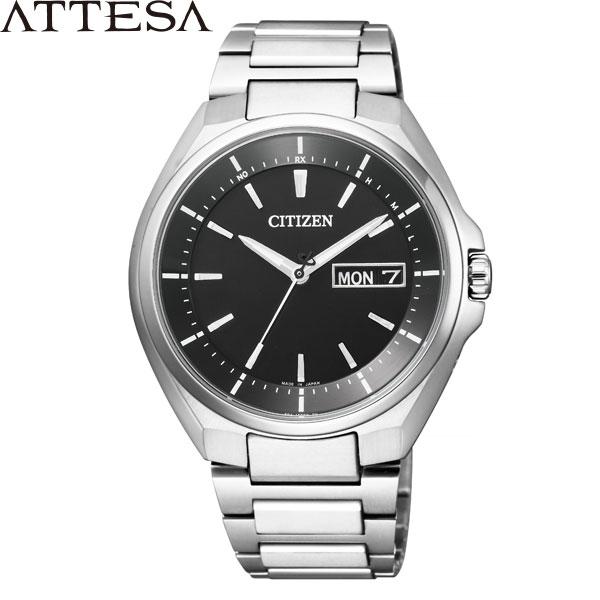 【2,000円OFFクーポン有】シチズン アテッサ [CITIZEN ATTESA] AT6050-54Eエコドライブ電波時計 スーパーチタニウム メンズ 腕時計 時計 [誕生日 プレゼント ホワイトデー ギフト]
