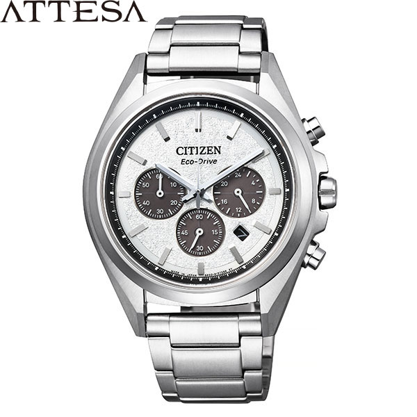 シチズン アテッサ [CITIZEN ATTESA] CA4390-55A エコドライブ クロノグラフ カレンダー 腕時計 時計 [誕生日 プレゼント ギフト 贈り物]