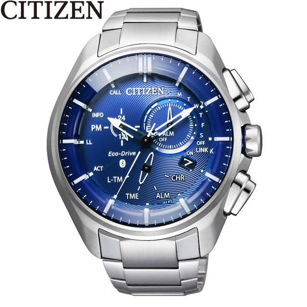 シチズン [CITIZEN] エコ ドライブ Bluetooth BZ1040-50L スマホ アプリ チタン メンズ 腕時計 時計 [誕生日 プレゼント ギフト 贈り物]