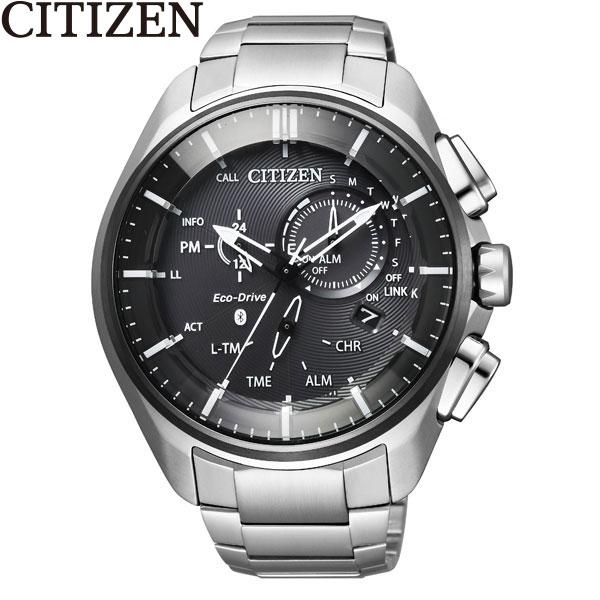 シチズン [CITIZEN] エコ ドライブ Bluetooth BZ1041-57E スマホ アプリ チタン メンズ 腕時計 時計 [誕生日 プレゼント ギフト 贈り物]