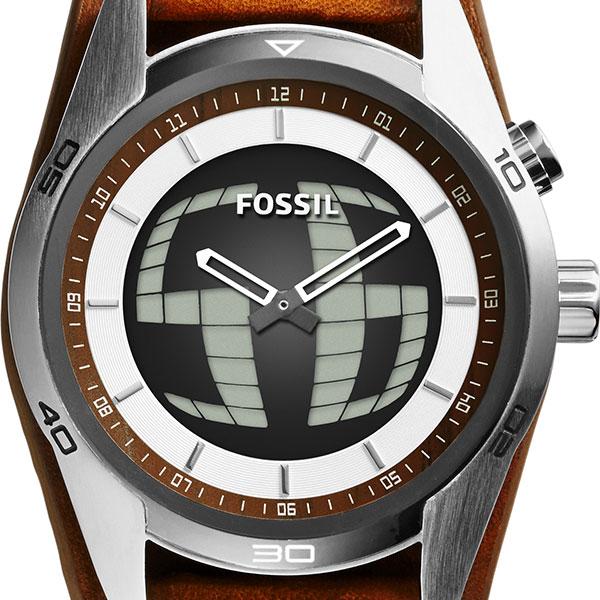 fosshiru[FOSSIL]科奇曼大的痉挛[COACHMAN BIG TICK]JR1471人皮革带