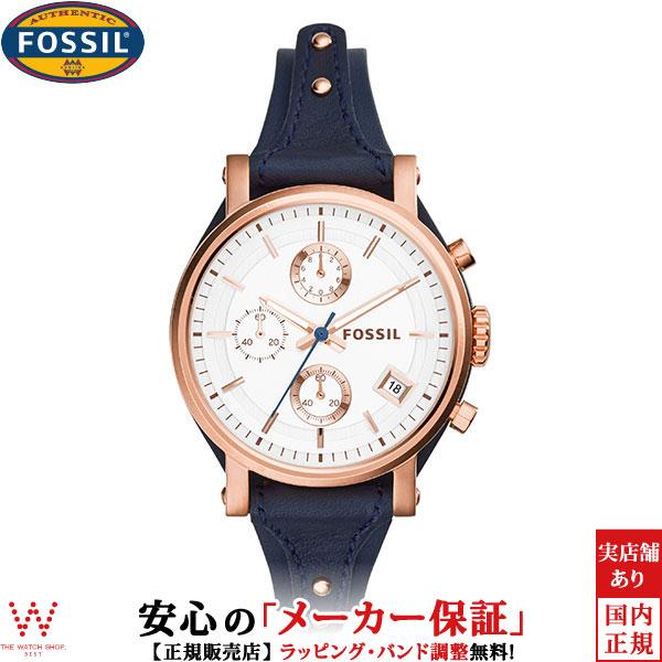 フォッシル [FOSSIL] オリジナルボーイフレンド [ORIGINAL BOYFRIEND] ES3838 レディース レザーバンド 腕時計 時計 [誕生日 プレゼント ギフト 贈り物]