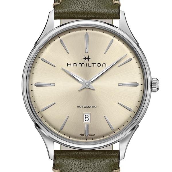 【2,000円クーポン有/8月28日11時まで】【無金利ローン可】【3年間無料点検付】 ハミルトン [Hamilton] ジャズマスター シンラインオート H38525811 メンズ腕時計 腕時計 時計 [誕生日 プレゼント 贈り物 ギフト]